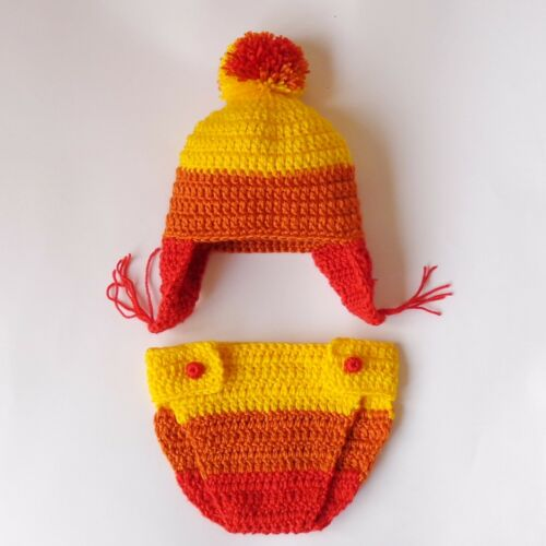Firefly Cobb Ear flap Hat Jayne Cunning Hat and Diaper Cover With Leg Warmers