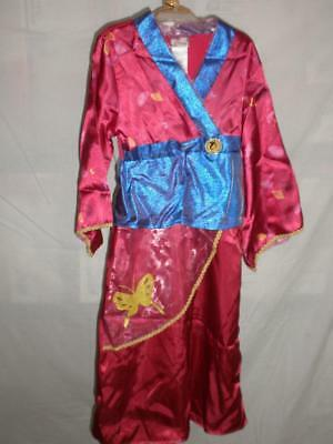 Disney Store Mulan Fancy Costume New Xxs 2 3 Toddler Ebay