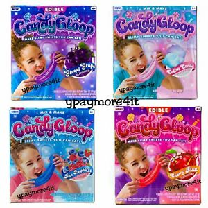 Edible Candygloop Slime You Can Eat Cherry Grape Raspberry Cotton Candy Ebay