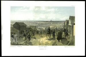 1855-Original-Antique-Print-CRIMEA-WAR-View-of-Kamiesch-Sevastopol-77