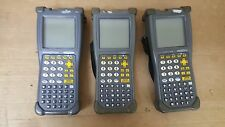 Lot of (3) Microflex PC9800 Data Collection Terminal