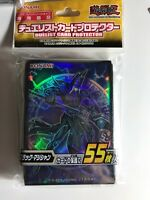 Yugioh Konami Card Sleeve The Dark Side Of Dimensions Dark Magician X55 Pcs