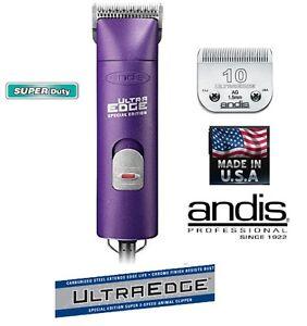 Andis Violet Super Pro Ensemble Coupe-ongles 2 vitesses & 10 Lame Blade Animal De
