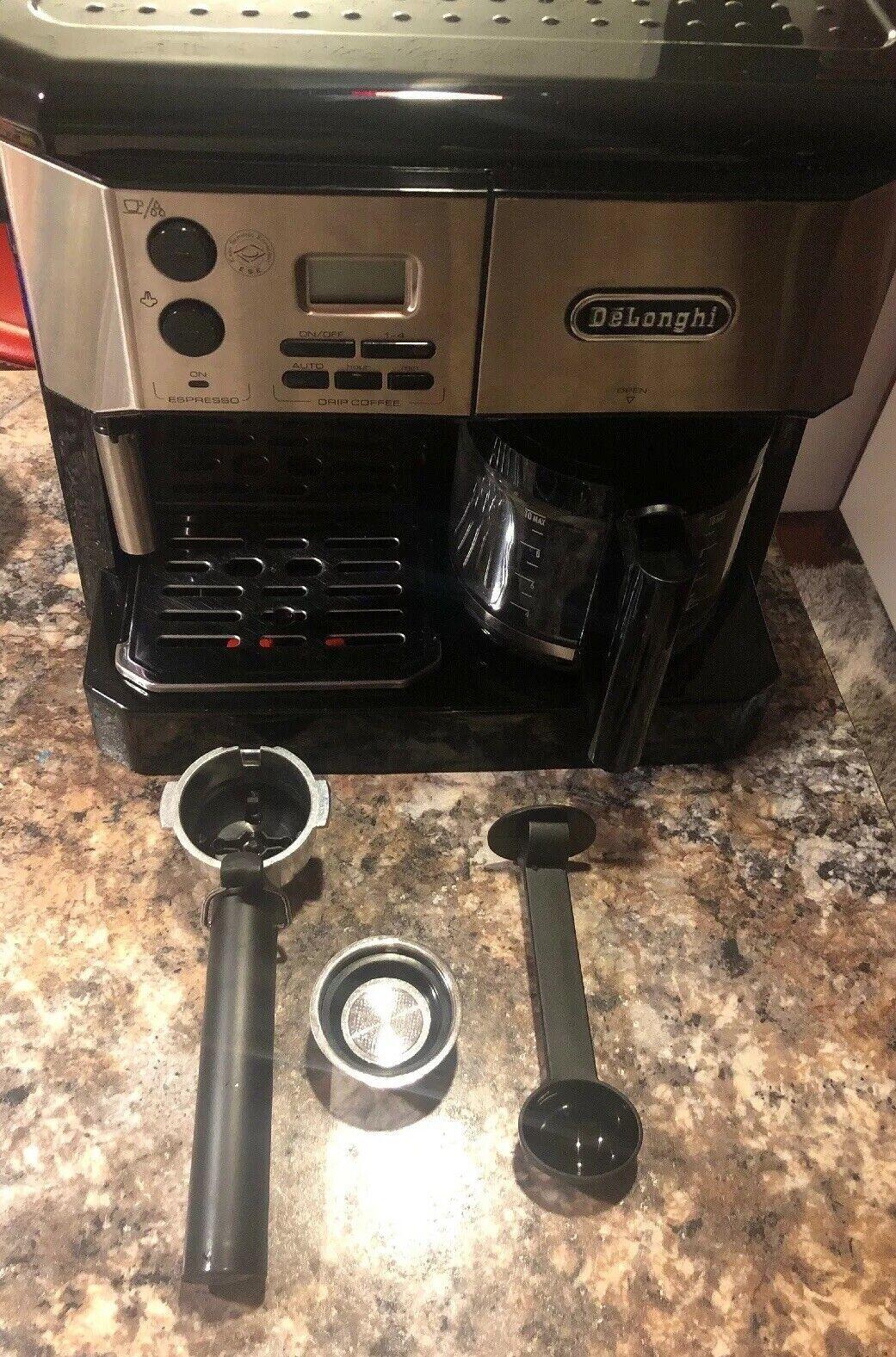 DeLonghi BC0430B Café Center All-in-one Espresso & Coffee Maker, 15 bar, 1500 W