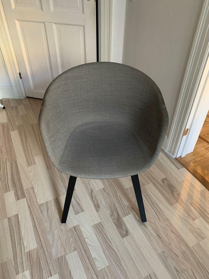 Spisebordsstol, Træ/polstret, Hay