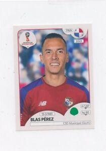 World Cup Aufkleber Russland 2018/Panini 548/Blas Perez Panama Fu/ßball Aufkleber