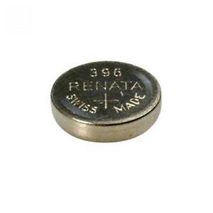 #396 (SR726W) Renata Mercury Free Watch Batteries - Strip of 10