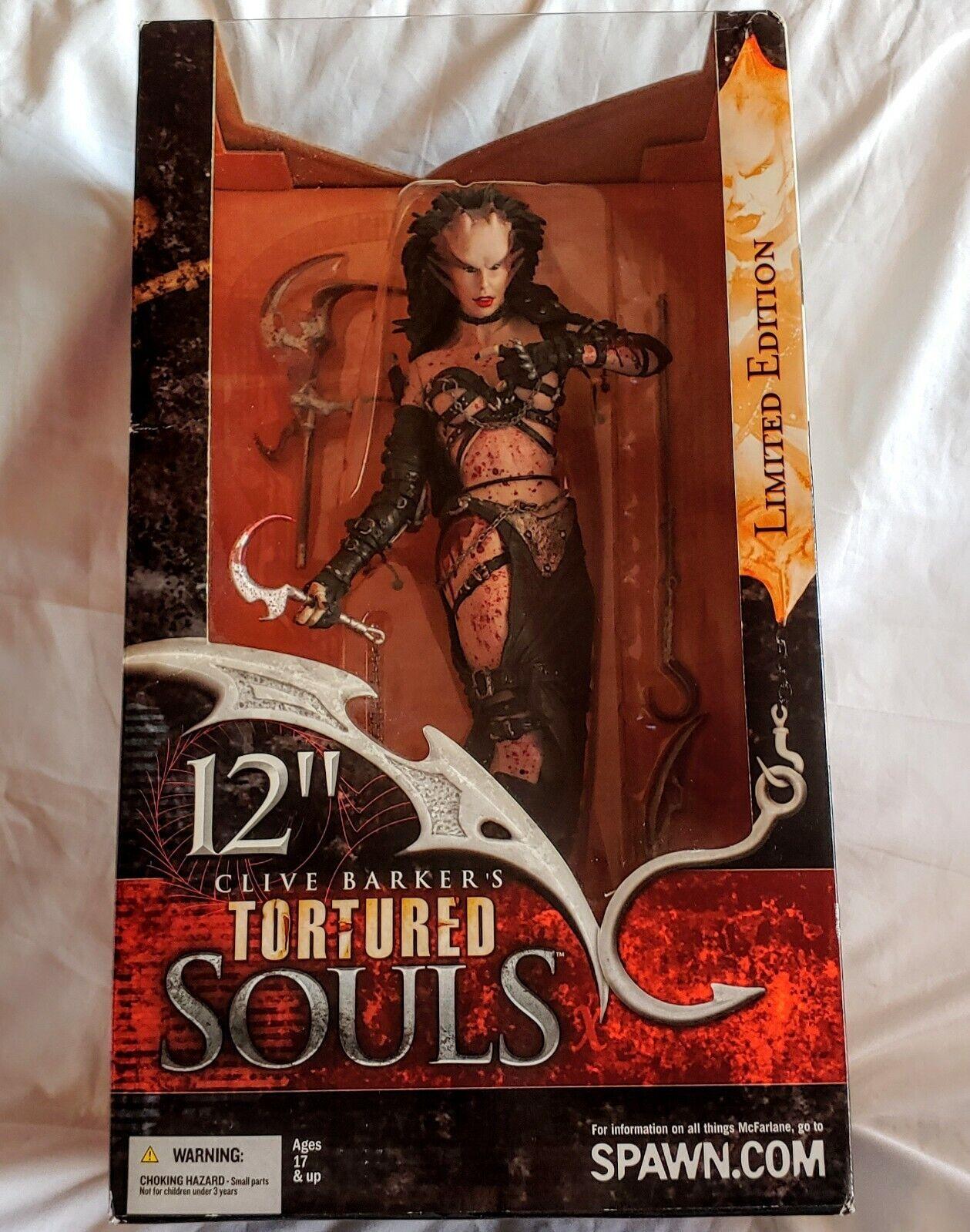 Lucidique Torturot Souls 12  Action Figure McFarlane Toys Clive Barker 2002