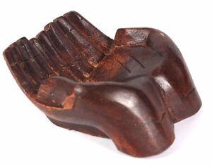 Schale aus Suar Holz 15 cm Hände Hand Korb Schale Deko