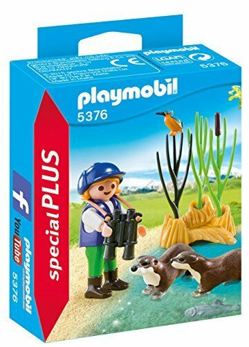 Playmobil 5376 Special Plus Young Explorer with Otters
