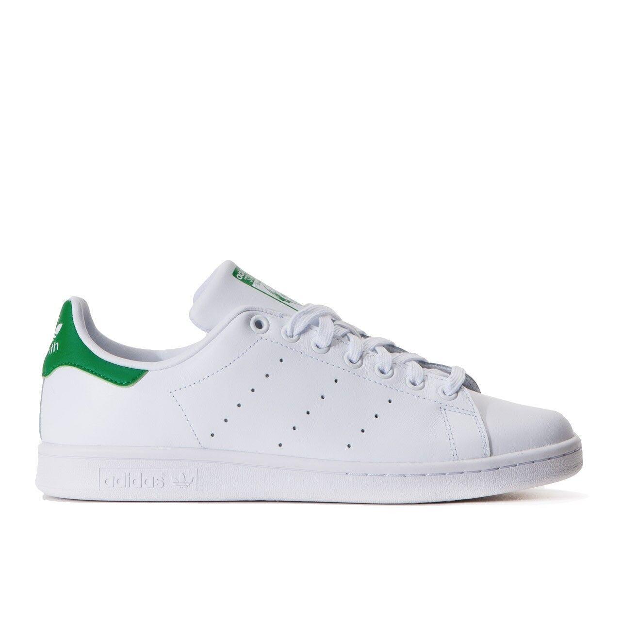 Adidas original Stan Smith White Green Nuove New shoes US9,5 EU43 M20324