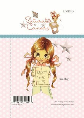 Clear Stamp Saturated Canary JOEY Little Darlings