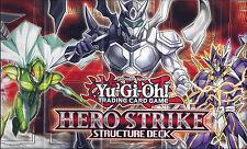 YU-GI-OH: carta Playmat dalla struttura HERO STRIKE Deck-TRADING CARD GAME