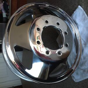 "Ford Super Duty F350 Alcoa OEM 16"" x 6 Early 4 notch ..."