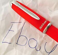 Penna a Sfera Ballpoint Pen Vintage PELIKAN KOINE' Rossa Anni '90 New