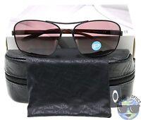 Oakley Women's Sunglasses Sanctuary Oo4116-06 Satin Black W/ Oo Grey Polarized
