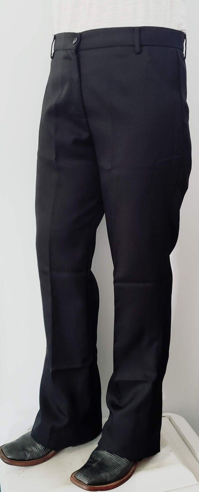 Mostrar Negro Pantalones Equine Western Adulto Xlarge