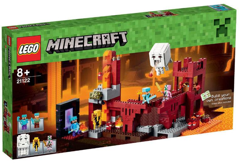 LEGO ® Minecraft ® 21122-les netherfestung NOUVEAU & OVP steve Blaze Ghast portail