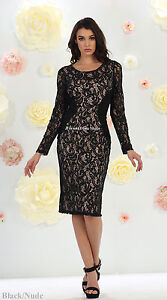 Details about SALE ! CHURCH MODERN MOTHER of BRIDE GROOM PLUS SIZE SHORT  LACE DRESS UNDER $100