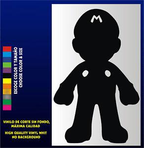 Sticker-Vinilo-Mario-Bros-Bartop-Arcade-Pegatina-Vinyl-Aufkleber-Nintendo