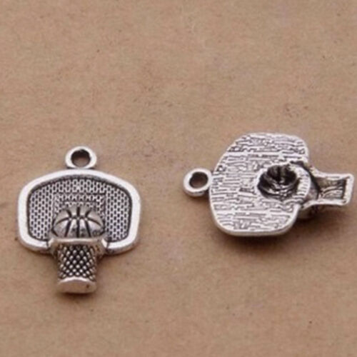 Basketball stands,Charm Silver Alloy Pendants,Jewelry Finding Diy Accessories,