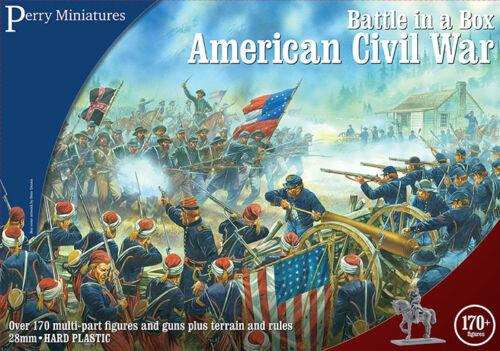 Chiffres Bb1 Dans 28mm Une Boîte Post La Free Bataille Sécession X170 De Guerre Perry wt6qdx