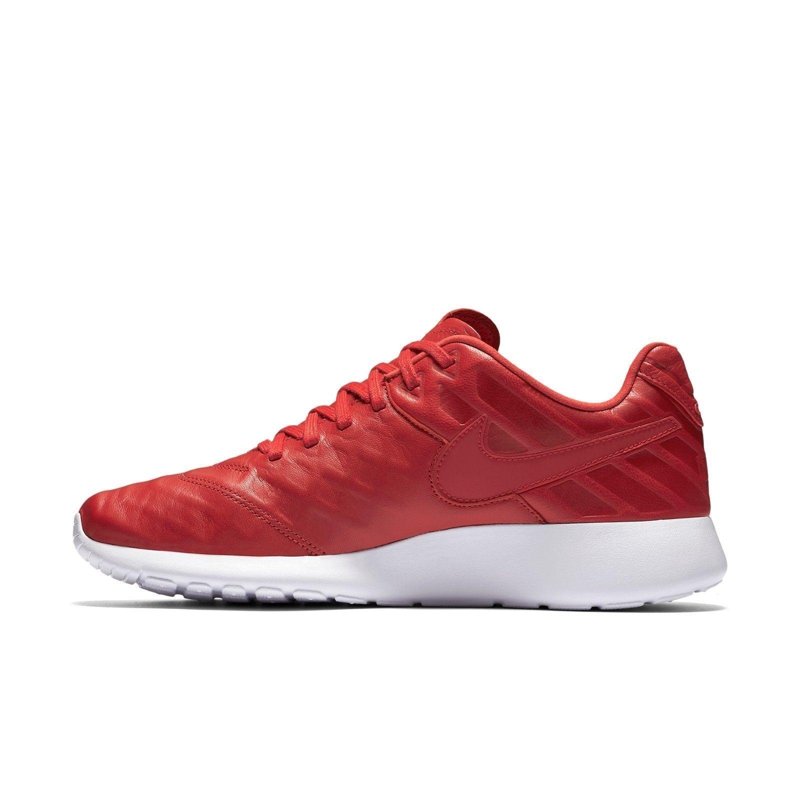 Nike Mens Roshe Tiempo VI QS University Red White 853535-667 Size 12 NEW