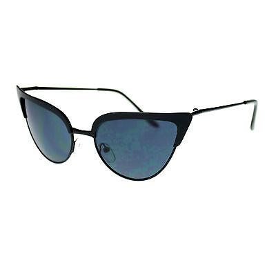 Womens Classic Retro Metal Frame Cat Eye Fashion Designer 20s Sunglasses New