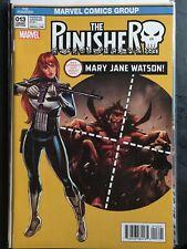 Punisher #5A Shalvey Variant NM 2016 Stock Image
