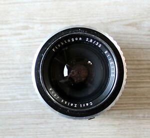 Lens Flektogon 2,8/35 by Carl Zeiss Jena with M42