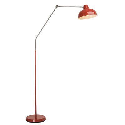 Stehlampe Stehleuchte Standleuchte Standlampe 1er Strahler SHELLEY rot NEU