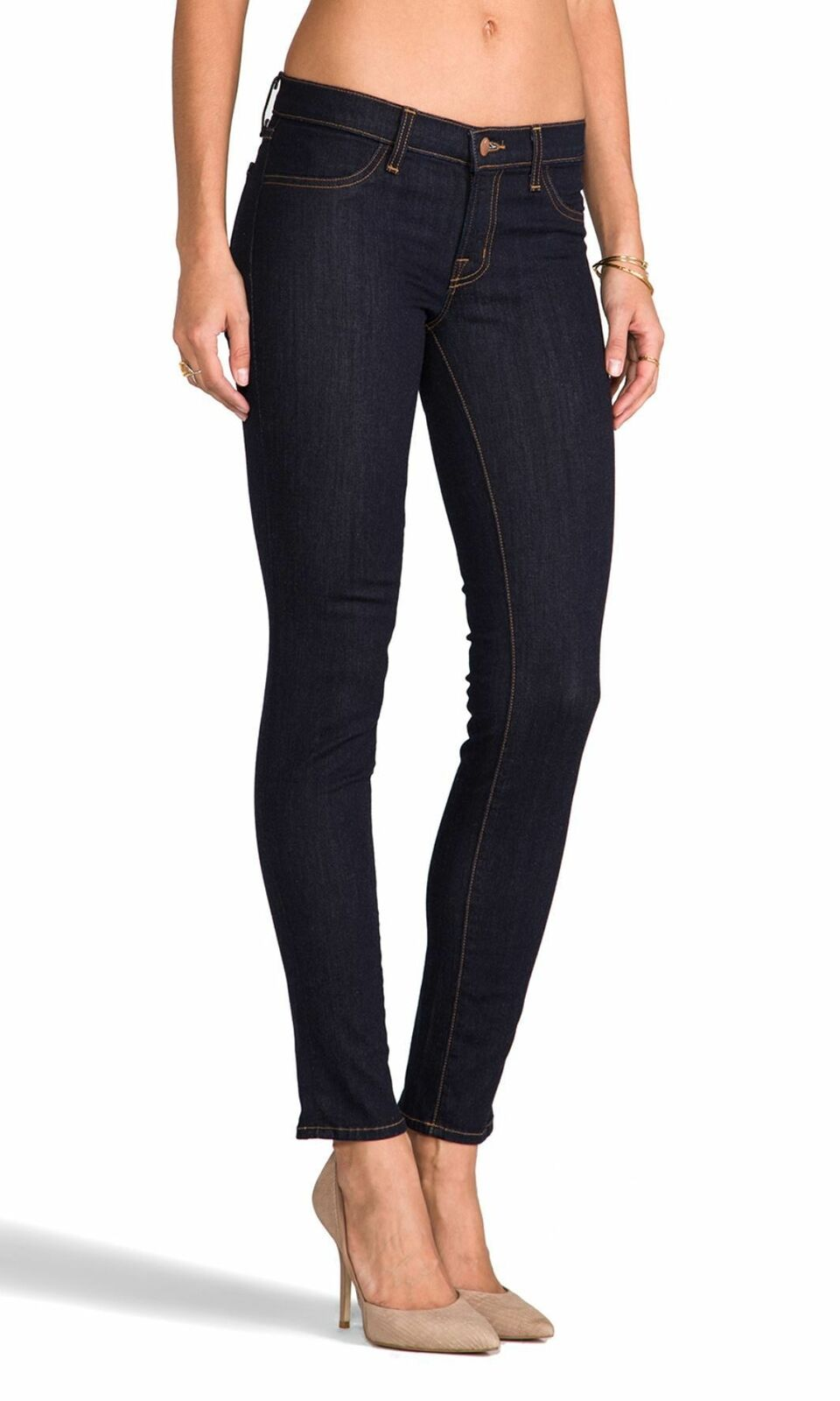 J BRAND Starless Leggings Dark bluee Stretchy Skinny Jeans 25 MINT