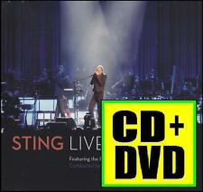 STING (CD + DVD) LIVE IN BERLIN ~ ROXANNE~FIELDS OF GOLD~FRAGILE (POLICE) *NEW*