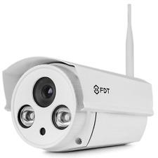 FDT 1080P HD WiFi Bullet IP Camera FD8902 Outdoor Wireless Security Camera