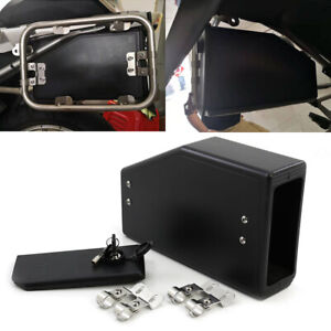 Tool Box Decorative Motorcycle Side Box For Universal Adjustable ABS Plastic