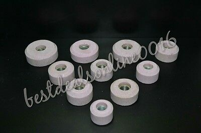 "LOT OF 10 PINK  FOR SIOUX 11//16/"" WHEEL VALVE SEAT GRINDER STONES"