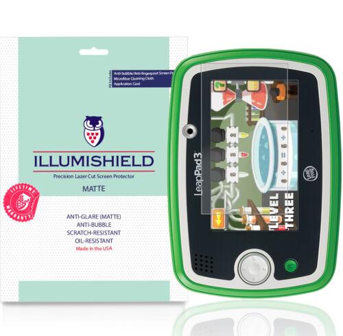 3x iLLumiShield Matte Anti-Glare Screen Protector for LeapFrog LeapPad 3