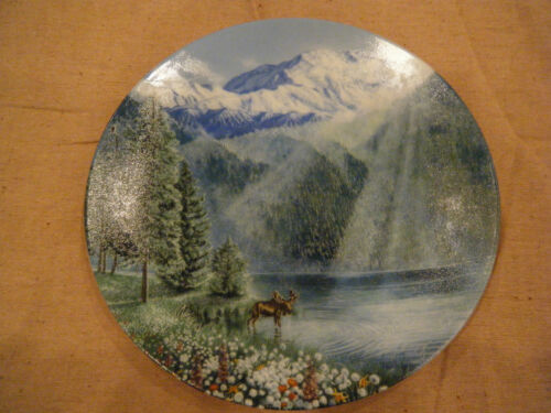"""Misty Morning at Mount McKinley""by Jean Sias2nd issue Nature's Legacy Plate!"