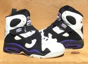 designer fashion c7f76 b5f94 Image is loading Vintage-1993-Nike-Air-Force-High-Robinson-Fresh-