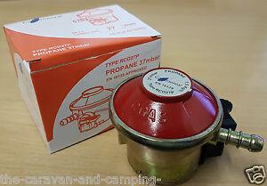 Propane Patio Gas Regulator  -  27mm Clip On Propane Gas Regulator