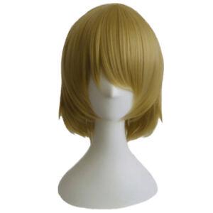 Love-Live-LoveLive-Koizumi-Hanayo-Cosplay-Hair-Short-Mixed-Color-Cos-Wig-Cap