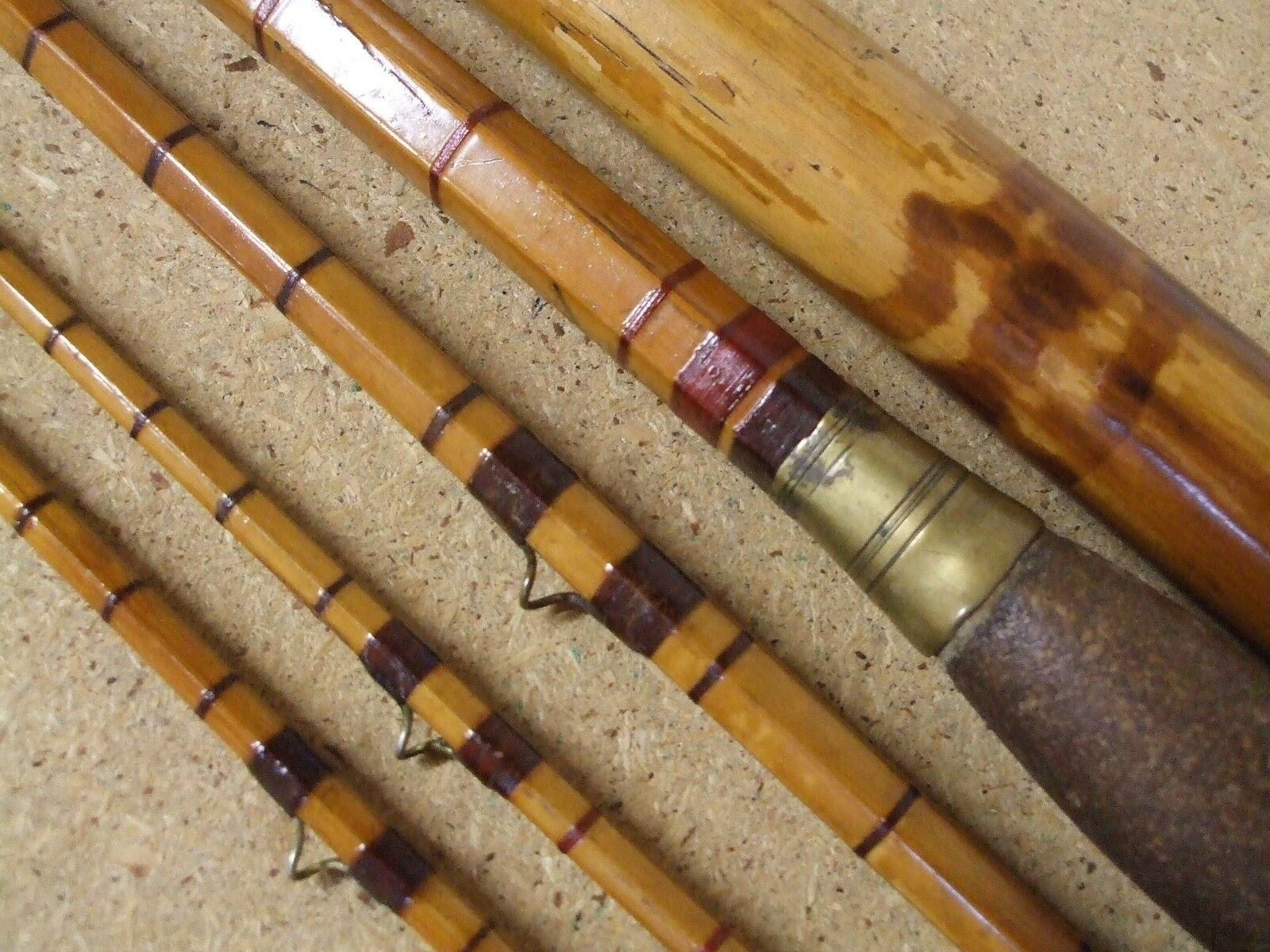 Vintage early 12'  Palacona Cane Salmon Fly Rod