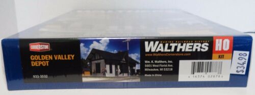 HO Scale Walthers Cornerstone 933-3772 Liberty Bank /& Trust Building Kit