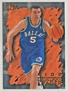 nba FLEER 96-97 HARDWOOD LEADER BASKETBALL CARD #125 JASON KIDD mint