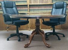 Black Adjustable Computer Desk Conference Chairs Office Depot Lot Of 12