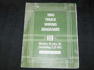 1980 GMC LD Trucks 10-35 Wiring Diagrams Shop Manual | eBay