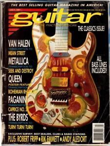 GUITAR-For-the-Practicing-Musician-Magazine-July-1991-Edition-Good