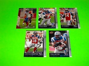 5-MONTREAL-ALOUETTES-UPPER-DECK-CFL-FOOTBALL-CARDS-38-52-70-82-95-1