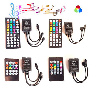 DC 12V/24V RGB Led Strip Light Music Controller For 3528 5050 Led strip RGB Flex