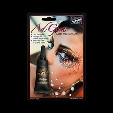 Mehron AdGem Latex Free Face & Body Decorations Glue Adhesive Rhinestones Jewels